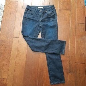 Chicos Platinum denim jeans